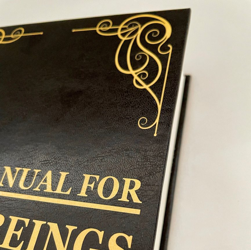 User's Manual For Human Beings Hardcover Close-Up