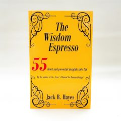 The Wisdom Espresso Softcover english front