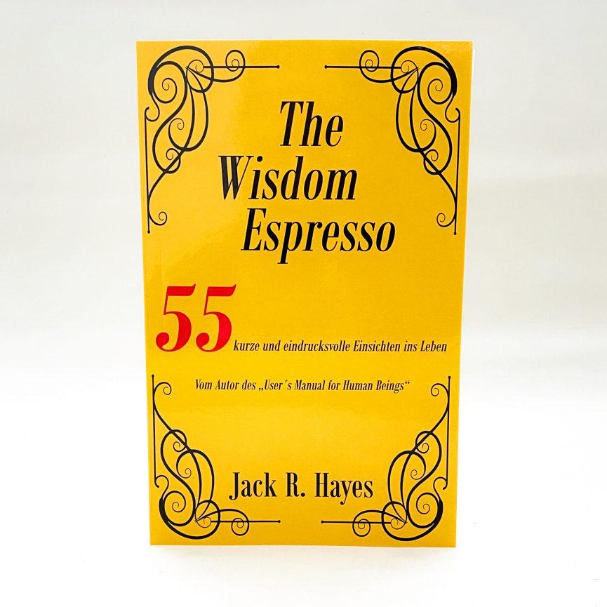 The Wisdom Espresso Softcover deutsch front