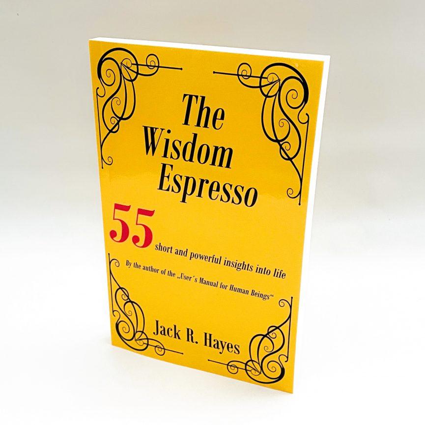The Wisdom Espresso Softcover Slant